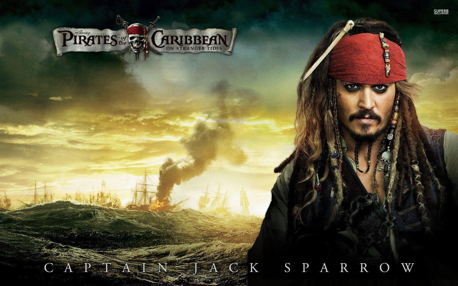 Captain Jack Sparrow Wallpapers 4K, Full Hd , Hd, Download -3292