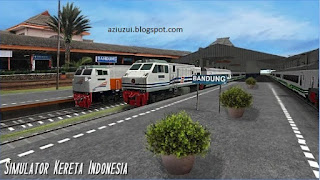 Free Download Indonesian Train Simulator Android Game
