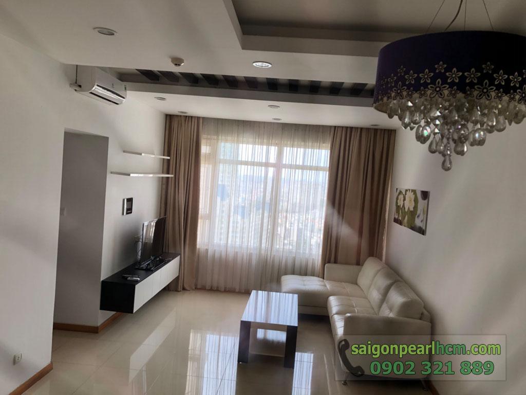 Saigon Pearl Sapphire 2 cho thuê căn hộ tầng 21 dt 92m2 giá thuê $800 - hình 4