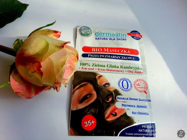 100% Zielona Glinka Kambryjska + kolagen + kwas hialuronowy + jojoba oil