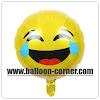 Balon Foil Emoji Face With Tears Of Joy / Foil Emoticon Face With Tears Of Joy