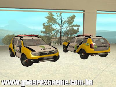 Renault Duster PMPR para GTA San Andreas