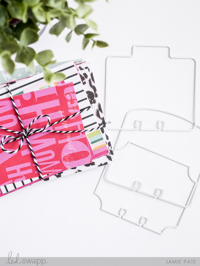 Crafting MemoryDex Cards from Boxed Stationery by Jamie Pate for Heidi Swapp