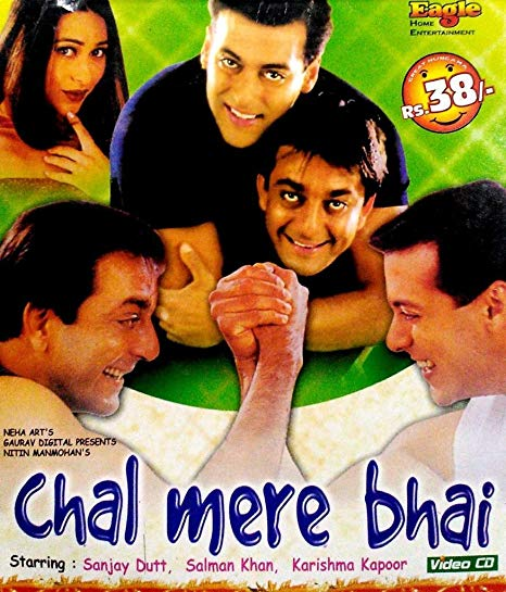 Chal Mere Bhai 2000 Hindi Movie 720p HDRip 1.1GB ESubs