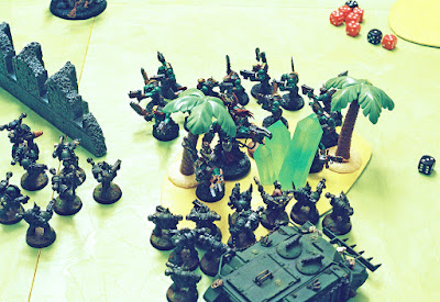 plague marines versus orks