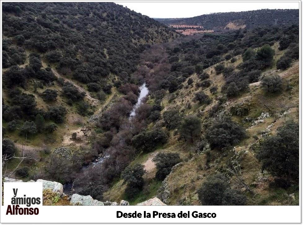 Presa del Gasco - Alfonsoyamigos