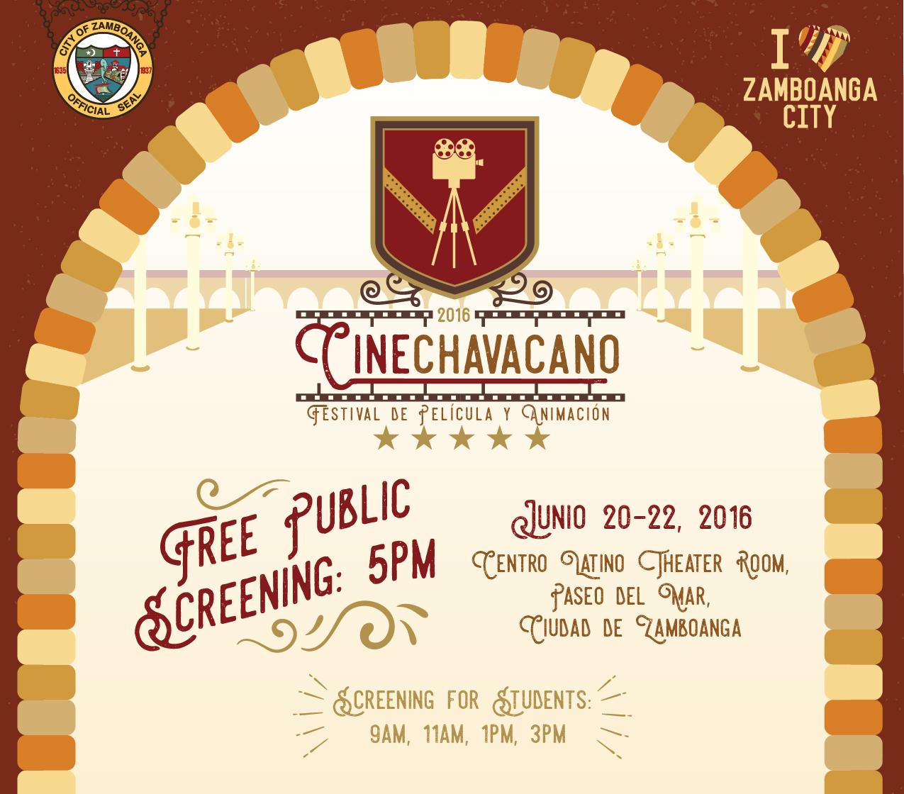 2016 CineChavacano Festival de Película y Animación - csz97 Blog Folio