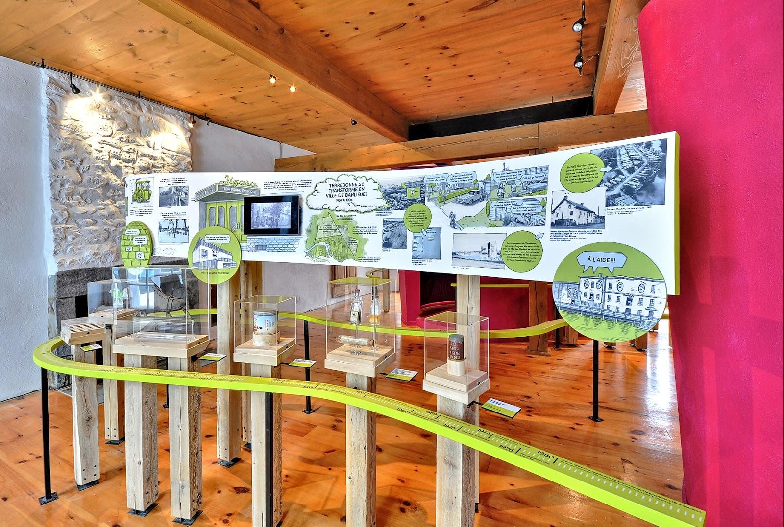 l'Île-des-moulins et la maison bélisle : 2 lieux d'expositions à