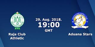 اون لاين مشاهدة مباراة الرجاء الرياضي وادوانا ستارز بث مباشر 29-08-2018 كاس الكونفيدرالية اليوم بدون تقطيع