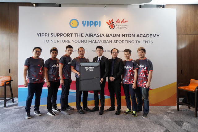 Yippi and AirAsia Badminton Academy Combine Forces to Nurture Young Malaysian Sporting Talents