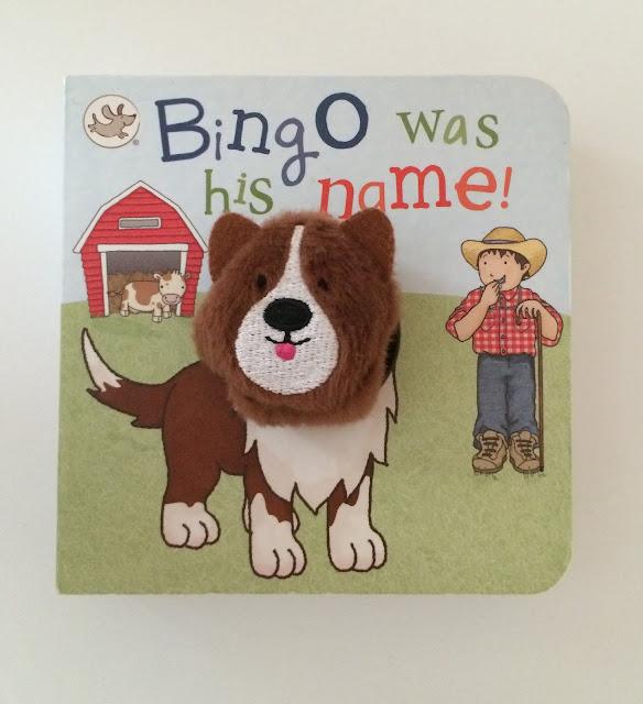 baby Bingo finger puppet book