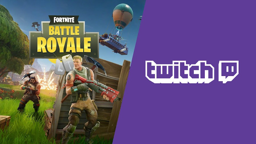 fortnite taking over twitch stream