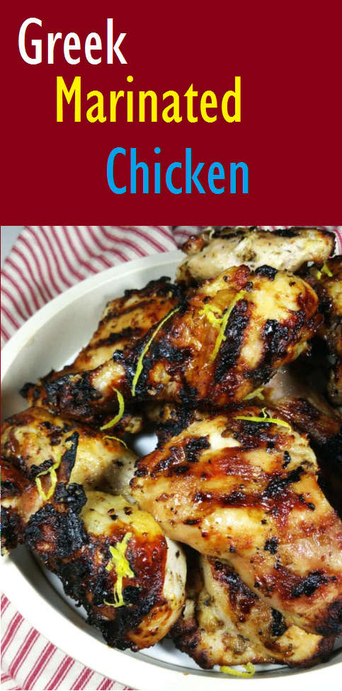 Easy Greek Marinated Chicken Recipe For Dinner