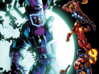 Galactus arrives in the Ultimate Universe in Cataclysm Ultimates' Last Stand 1