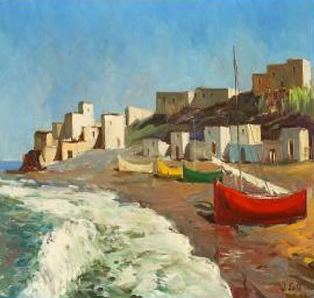 Joan Sala i Gabriel, Paisajistas españoles, pintores Catalanes, Pintor español