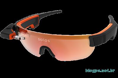 Os ciclistas norte-americanos usarão os óculos inteligentes Solos, uma espécie de Google Glass para atletas
