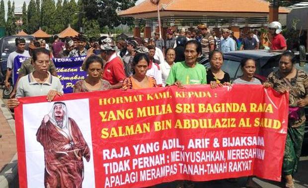 Ibu-Ibu Bali: Raja Salman Adil, Tidak Pernah Nyusahkan Rakyat…