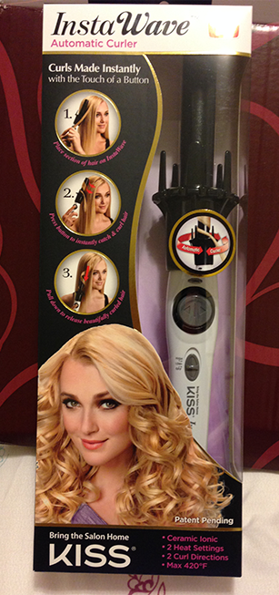 kiss instawave automatic hair curler - photo credit: intrice.blogspot.com