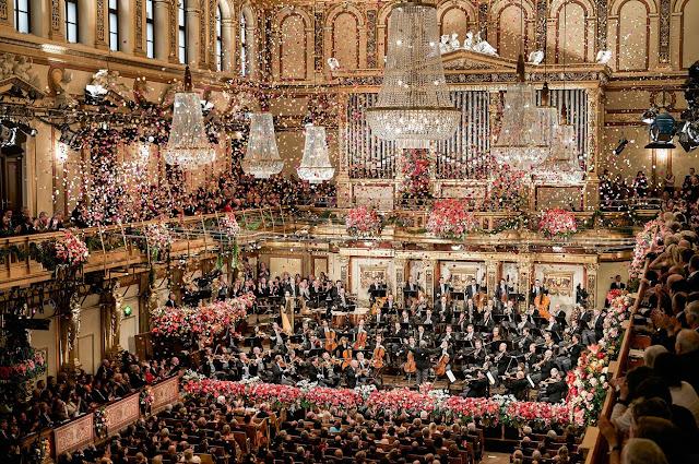 Photo from Vienna Philharmonic Orchestra New Years Concert (photo: Jun Keller)