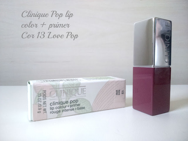 Pop Lip Colour and Primer da Clinique na cor Love Pop