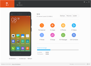 cara backup keseluruhan data Hp Xiaomi