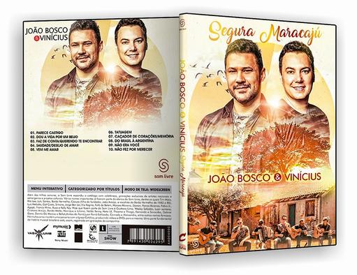 DVD – João Bosco & Vinícius Segura Maracaju 2018 – ISO