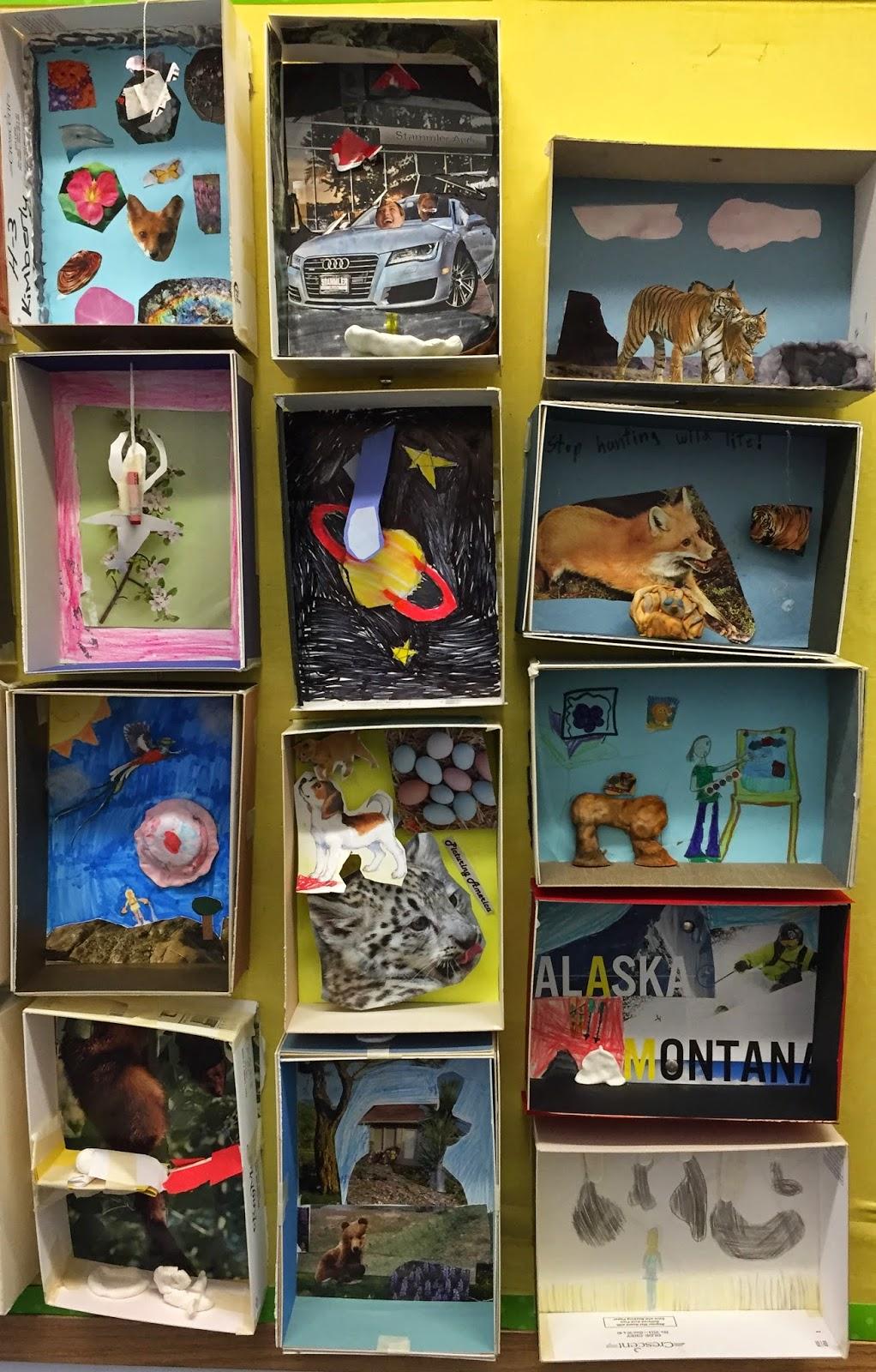 Classroom Design For Grade 3 ~ Small batch art rd grade dream boxes