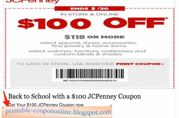 Shopping Cheaply with JCPenney Coupons