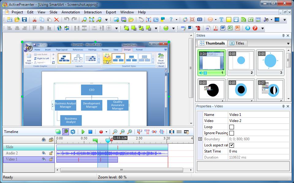 Software Perekam Video Komputer Active Presenter