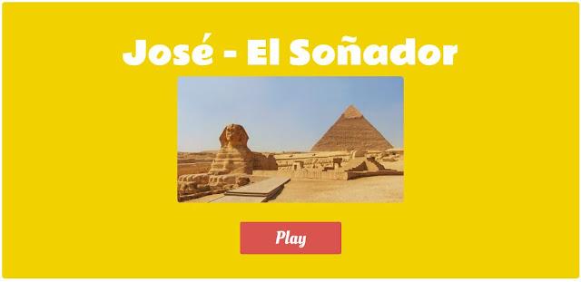Juego Cristiano José El Soñador