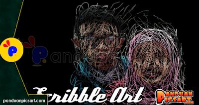 Bagaimana Cara Membuat Scribble Art di Picsay Pro Android