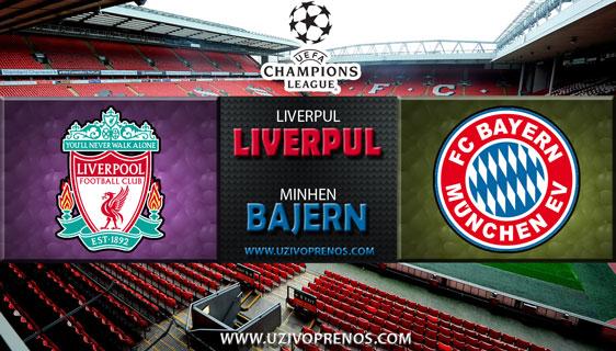 Liga šampiona: Liverpul - Bajern Minhen