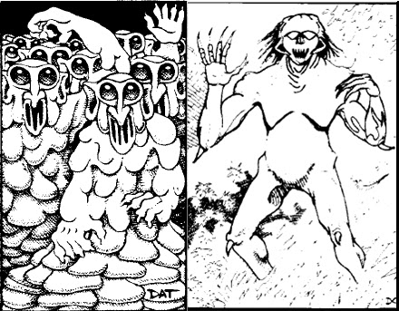 Dreams in the Lich House: Mythic Monday: Hellish Ghosts