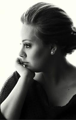 Model Rambut Sebahu Adele