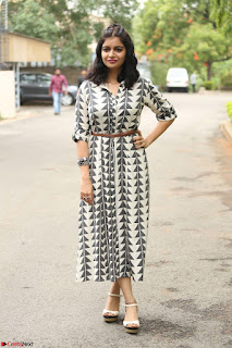 Swathi Reddy Looks super cute at London Babulu theatrical trailer launch ~  Exclusive 073.JPG