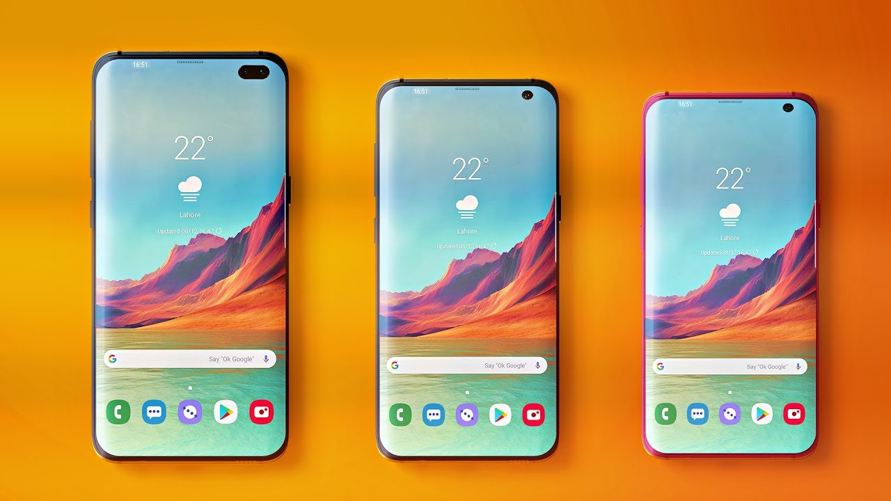 Details Of Samsung Galaxy S10 Variants