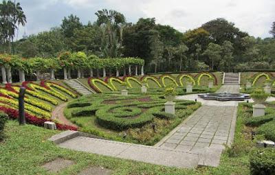 Lake Garden in Kuala Lampur