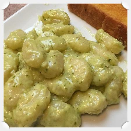 Pesto Cream Gnocchi