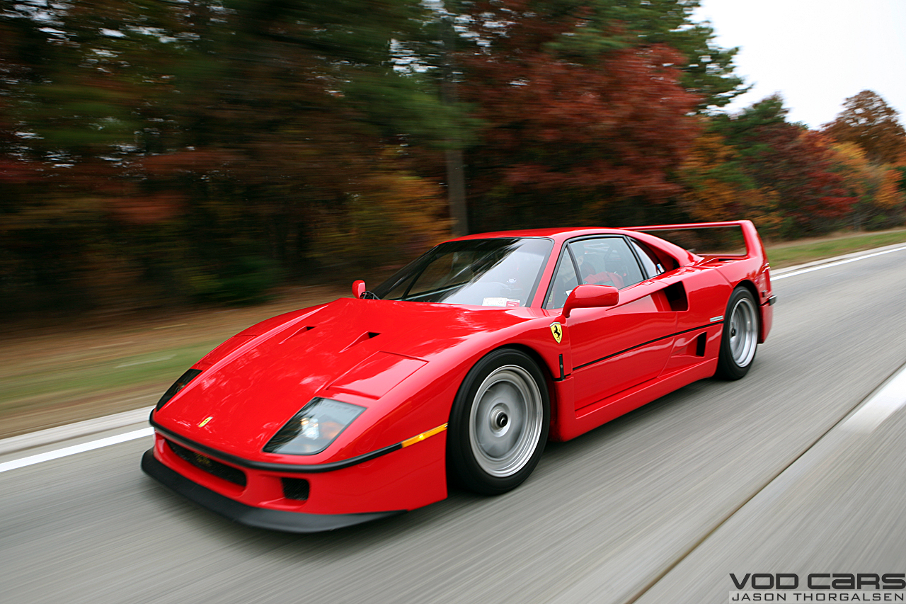 Ferrari F40 HD Wallpapers ~ HD Car Wallpapers
