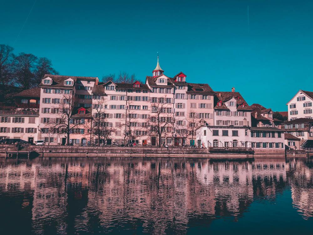 zurich - blog voyage - laquotidiennedele - limmat