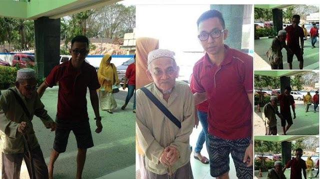 Datang Jauh-Jauh Dari Medan Untuk Menemui Sang Anak, Kakek Yang Sakit-Sakitan Ini Malah Ditolak