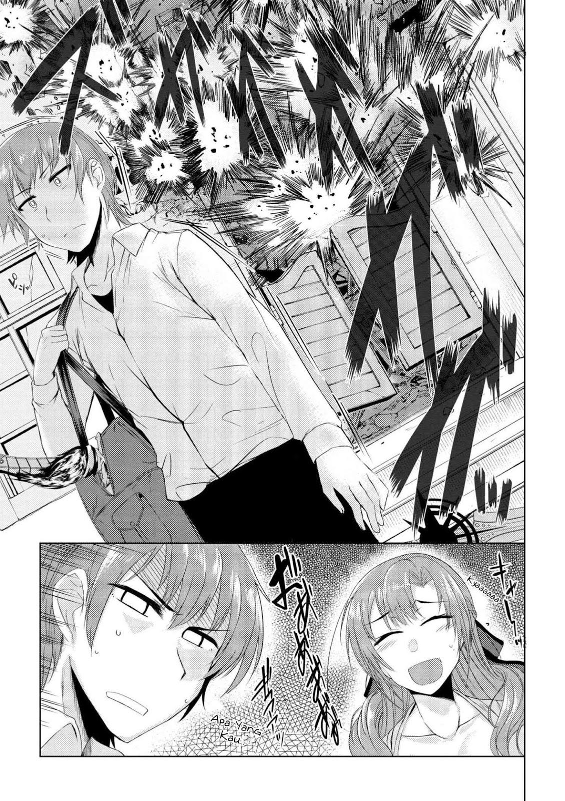 Baca Komik Tsujou Kougeki ga Zentai Kougeki de 2-kai Kougeki no Okaasan wa Suki desu ka? Chapter 2 Bahasa Indonesia Page 17 Kintamaindo