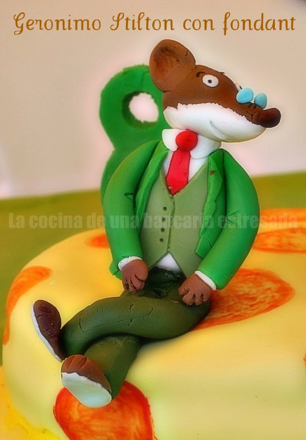 TUTORIAL FONDANT GERONIMO STILTON