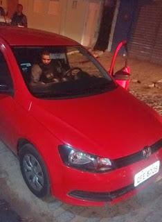 Polícia da cidade do Damião recupera mais um veículo roubado