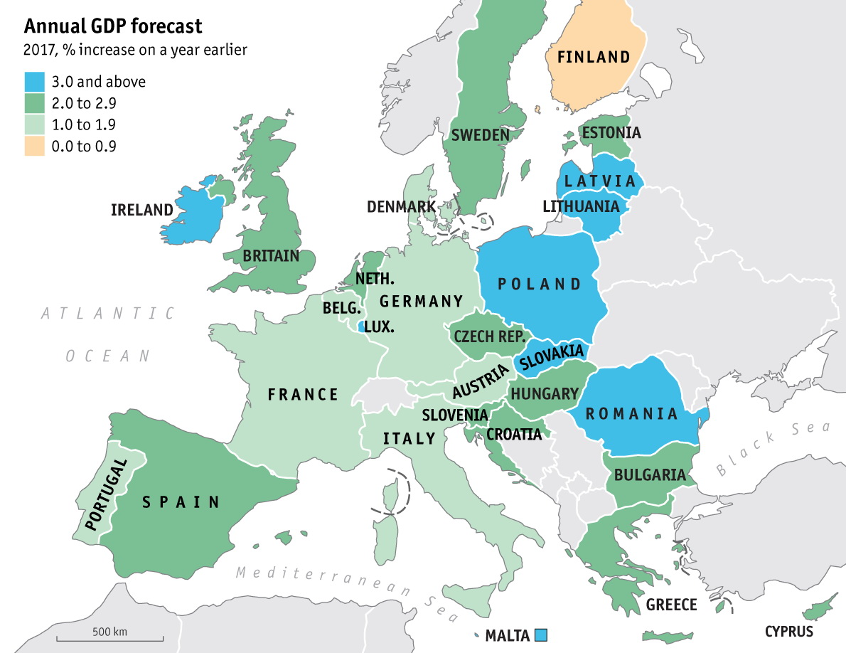 Annual GDP forecast (2017)