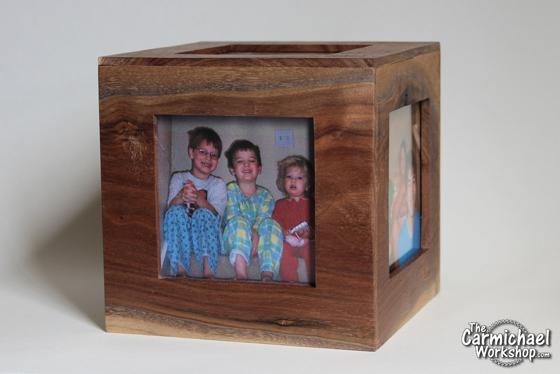 Cube Picture Frame by The Carmichael Workshop