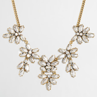 J. Crew Factory Hanging Floral Gemstone Necklace $13 (reg $55)