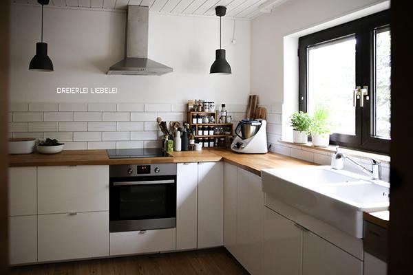 dreierlei liebelei unser neues zuhause k che. Black Bedroom Furniture Sets. Home Design Ideas
