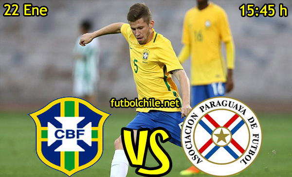 Ver stream hd youtube facebook movil android ios iphone table ipad windows mac linux resultado en vivo, online:  Brasil vs Paraguay
