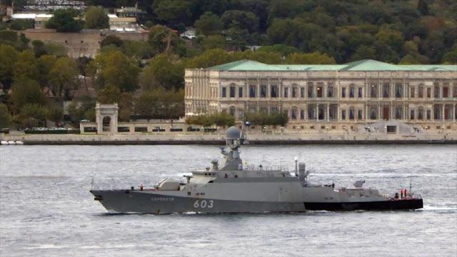Putin envía naves de guerra a las aguas de la OTAN